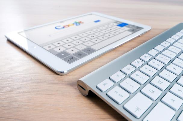 Google ipad and keyboard